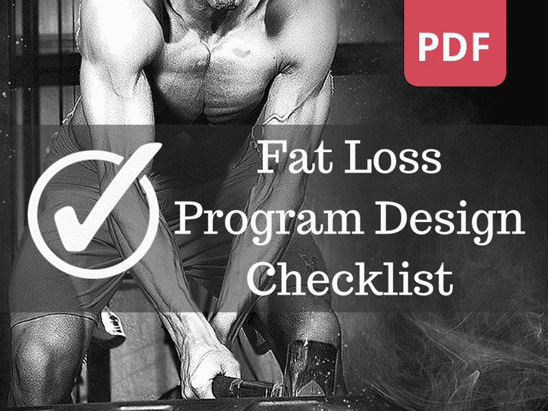 Fat Loss Specific Training