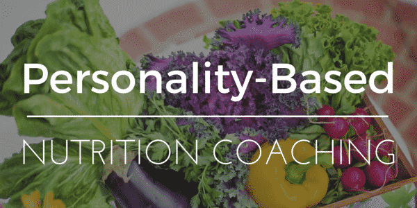 Personality based nutrition coaching