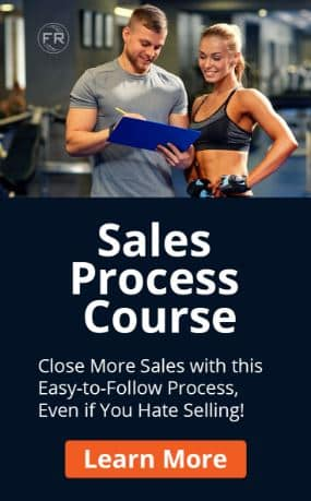 Sales Process Course Banner - Fitness Business