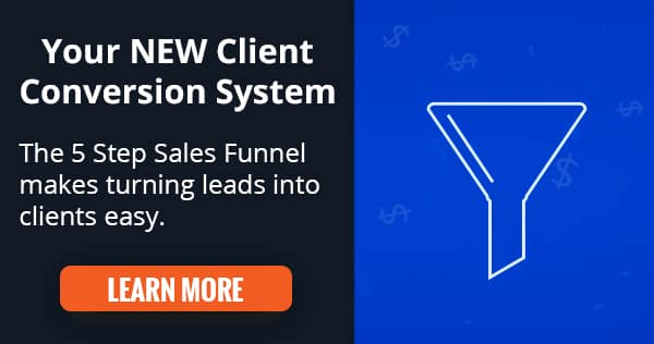5 Step Sales Funnel - Attract More Clients