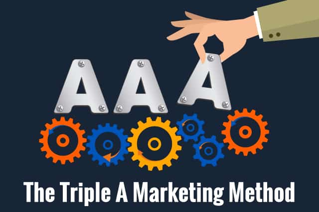 Triple A Marketing Method